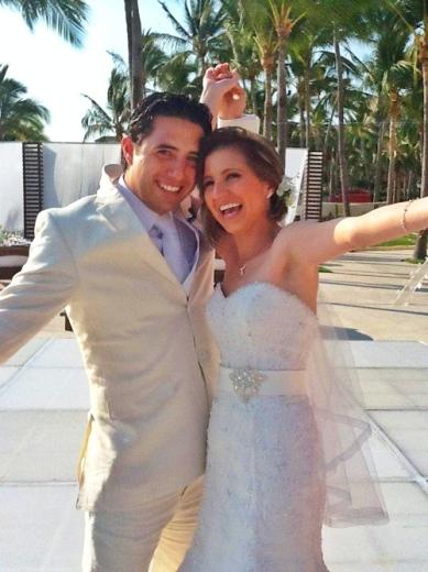 The happy couple!