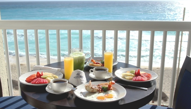 Good morning from Cancun!
