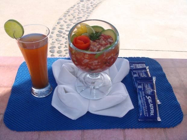 Acapulco-style ceviche